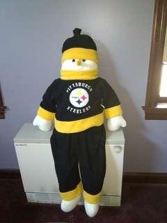 NFL Pittsburgh Steelers Plush Snowman