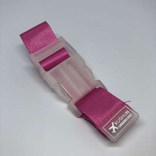 Pink Luggage Travel Clip