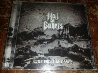 Music CD (Metal): Hail Of Bullets–... Of Frost And War - Death Metal