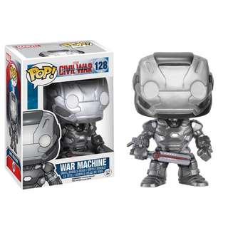 🚚 [Preorder] Funko POP! Marvel Captain America 3 Civil War - War Machine