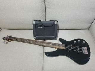 Timbre Bass Guitar and Amp