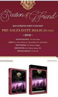 GFRIEND - SEASON OF GFRIEND DVD