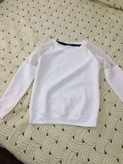 Kasheica White Sweater