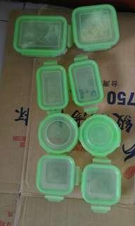 玻璃保鮮盒,大小共8個/1組