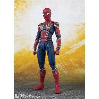 5月新貨!魂限定!全新未開封 日版 Bandai S.H.Figuarts SHF 蜘蛛俠 Iron Spider-Man 復仇者聯盟 Avengers Infinity War Marvel