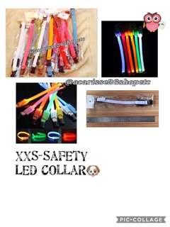 XXS Safety Led Collars