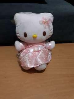 Hello Kitty pink stuffed toy