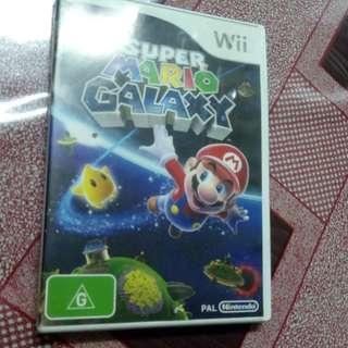 Nintendo wii PAL super mario galaxy