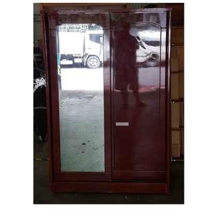 【172二手傢俱】B490二手深色兩門衣櫃,中古深色兩門衣櫃,二手家具,中古家具