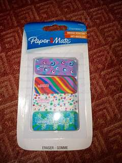 Papermate Erasers