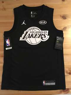 2018 NBA ALL-STAR GAME YOUTH KOBE BRYANT Swing Man Jersey 高比拜仁 黑色球衣 (SIZE:M) 中碼