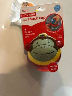 Skip hop snack cup - monkey