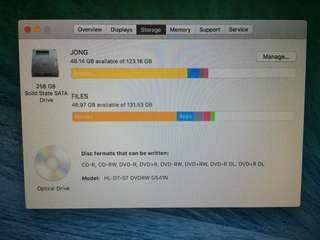 "macbook pro mid 2011 13"" non retina"