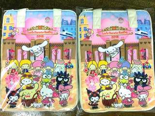 Sanrio multi-case bag :A4 size, last stock available