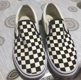 Vans Checkerboard Black & White