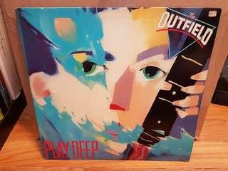 The Outfield Play Deep Vinyl LP Original Pressing Rare