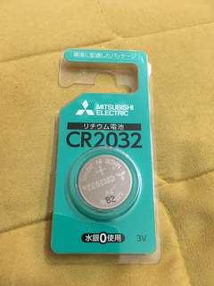 Mitsubishi CR2032 made in Japan (Including postage)