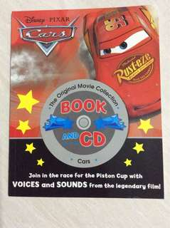 Disney Pixar Cars with CD