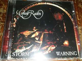 Music CD: Count Raven ‎– Storm Warning - Doom Metal