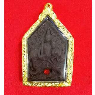 Phra Khun Paen (Black) - Luang Pu Inn - Wat Nong Mek - BE 2557
