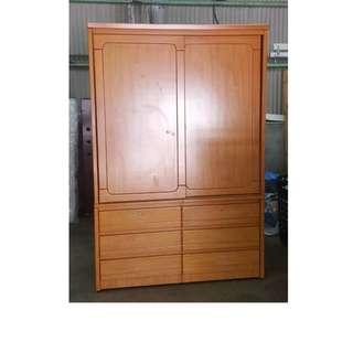 【172二手傢俱】B493二手兩層六抽衣櫃,中古兩層六抽衣櫃,二手家具,中古家具