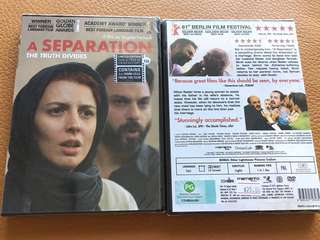(Brand New) A Separation, The Truth Divides DVD