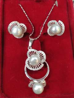 South Sea Pearls Jewelry Set