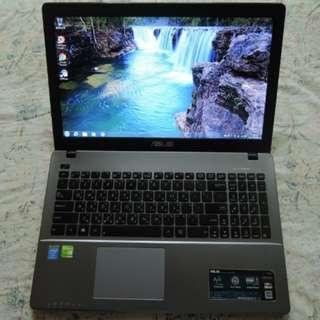 二手 筆電 華碩 ASUS X550LD 遊戲機 / 15.6吋 / 高階i5 / 2G獨顯 / 500G硬碟