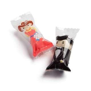 ❤【婚禮】新郎新娘水果糖量販包