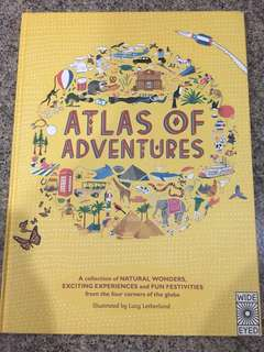 Atlas of adventures wide eyed