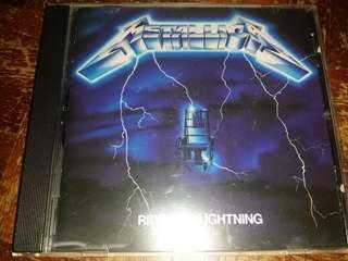 Music CD: Metallica–Ride The Lightning