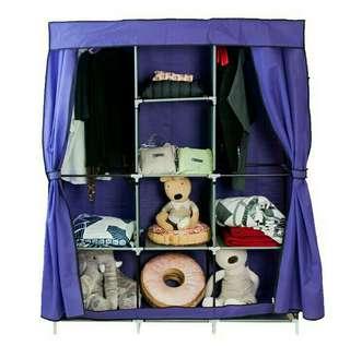 🎈DIY超大加寬雙門衣櫃 無紡布 衣櫥 衣架 收納櫃 櫥櫃 娃娃櫃 玩具櫃