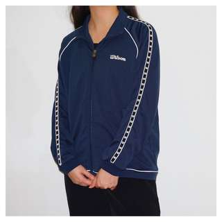 Wilson side tape training jacket
