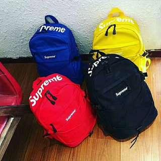 Supreme Backpack 18ss $800