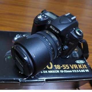 【出售】Nikon D90 數位單眼相機 (快門數只有4千)