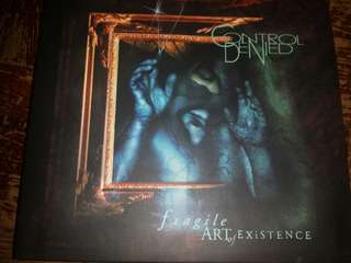 Music CD (Metal): Control Denied ‎– The Fragile Art Of Existence - Metal Mind Prods. Reissue