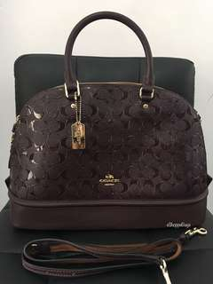 Coach Embossed Dome bag