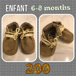 Enfant Baby Boy Highcut Shoes