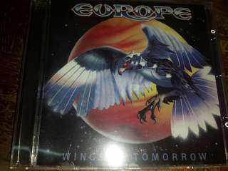 Music CD: Europe – Wings Of Tomorrow - Hard Rock - 2010 Reissue