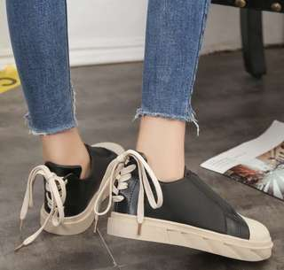 (INSTOCKS) lace back sneakers