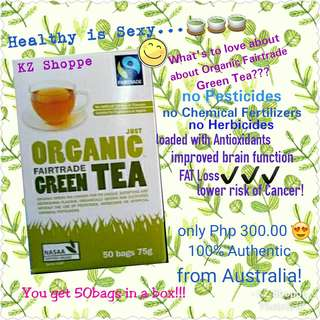Fairtrade Organic Green Tea from Australia