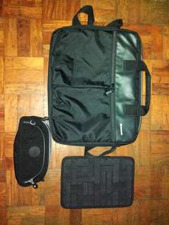 Laptop bag with Freebies