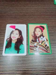 [WTT]TWICE - MERRY & HAPPY PHOTOCARDS