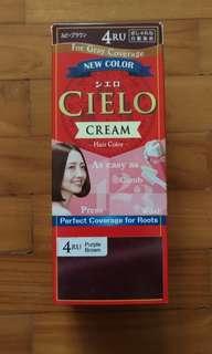 Cielo Cream Hair Colour 4RU Purple Brown