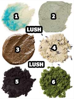 LUSH Bestseller Face & Body Products