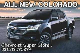 Harga Murah Chevrolet Colorado 4x4 2017 All Type