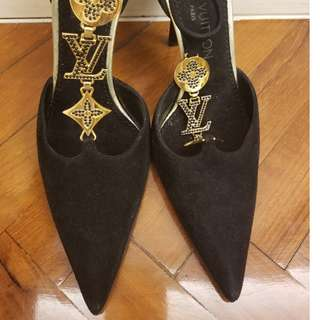 Louis Vuitton LV brand new evening shoes