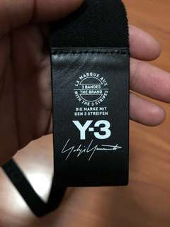 Adidas Y3 Belt With tags & receipt(FAST DEAL)