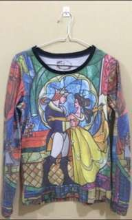 Beauty and the Beast pullover