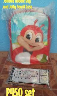 Jollibee Bag & Pencil Case Set